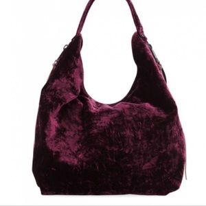 Rebecca Minkoff Cherry Velvet Bryn Hobo Bag